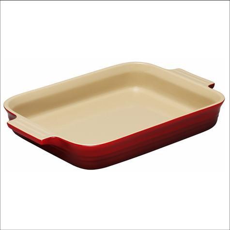 Le Creuset 26cm Rectangular oven Dish Red BNIB