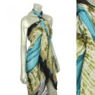 SuperSize Abstract print Pareo