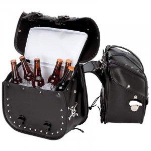 Motorcycle saddle bag / cooler