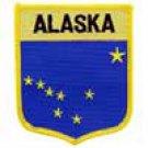 Alaska State Flag Shield Patch