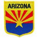 Arizona State Flag Shield Patch