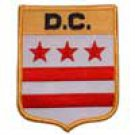 DC State Flag Shield Patch