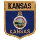 Kansas State Flag Shield Patch