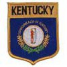 Kentucky State Flag Shield Patch