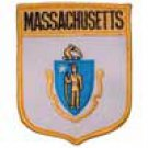Massachusetts State Flag Shield Patch