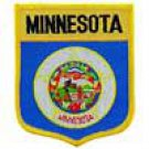 Minnesota State Flag Shield Patch