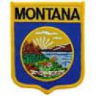 Montana State Flag Shield Patch