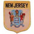 New Jersey State Flag Shield Patch