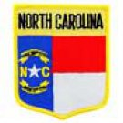 North Carolina State Flag Shield Patch