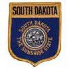 South Dakota State Flag Shield Patch