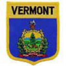 Vermont State Flag Shield Patch