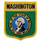 Washington State Flag Shield Patch