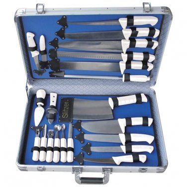 Slitzer� 22pc Professional Cutlery Set in Case
