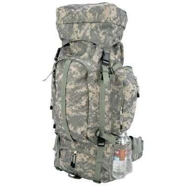 Extreme Pak Digital Camo Water-Resistant, Heavy-Duty Mountaineer�s Backpack