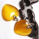 Yellow cat's eye stone, pendants, fashion, Christmas gift (a price)