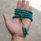 Tibetan Buddhist prayer beads, 8mm turquoise, meditation, yoga hot beads, necklaces.