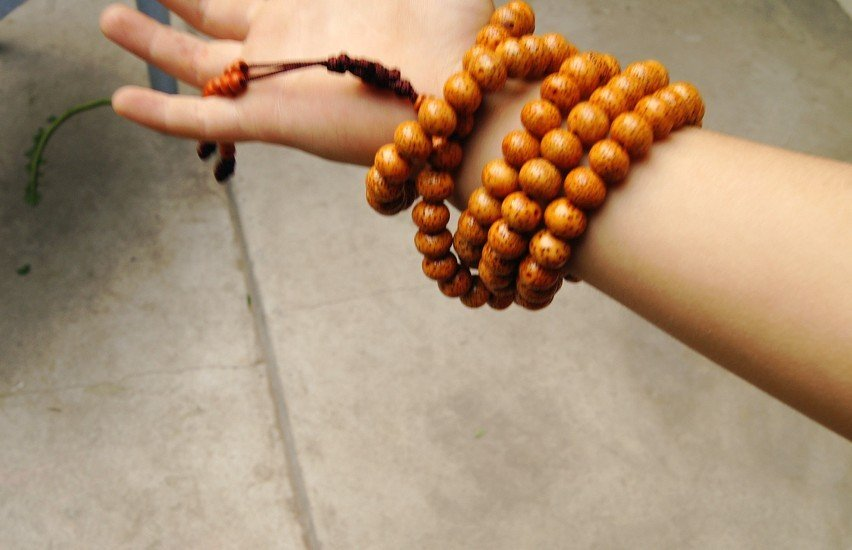 Buddhist prayer beads, 11 mm Pu Tizi. The yoga MaLaTang 108 meditation beads