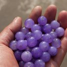 urple jade beads, a single diameter of about 13 mm (40 to a pack)