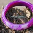 Agate bracelets, natural cloud patterns, diameter 60 mm, 15 mm, 8.5 mm thick