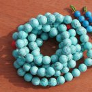 Tibetan Buddhist prayer beads, 10 mm 108 turquoise, meditation, yoga, hot beads, necklaces.