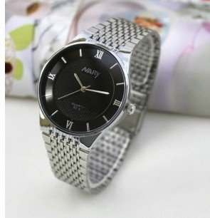 Ultra-thin watches men's business casual fashion couple on the table