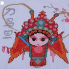 The new living room painting, cross stitch, opera characters ( Peking Opera Blues ) 48x40CM