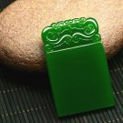 Bright green jade Talismans (safe). Lucky pendant necklace (paragraph 2)