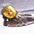 Retro bronze gilding Buddha statue of Buddha. Swing the town house - dispel evil. The rent