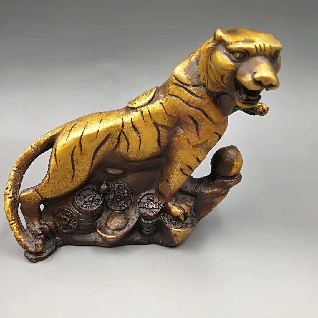Copper and gold. The ancient tiger (court system). Evil spirits. The treasures of the town.