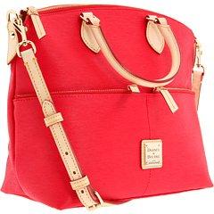 AUTHENTIC Dooney & Bourke Cork 2 handbags in 1 purse Red
