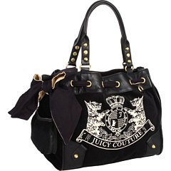 AWESOME 100% Authentic Juicy Couture Scottie Handbag Black