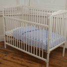 Saplings Jessica Cot White with Foam Mattress