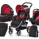 Hauck Apollo 11 All In One Travel System - Tomato