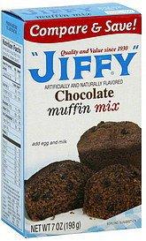 Jiffy, Chocolate Muffin Mix, 7oz Box
