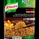 Knorr, Rice Sides, Menu Flavors, Asian BBQ, 5.4oz Pouch