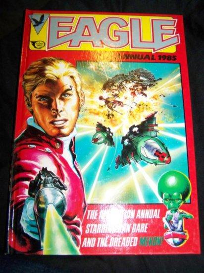Vintage 1985 EAGLE ANNUAL Graphic Novel Fleetway Book