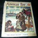 Vintage AMERICAN BOY May 1935 Magazine ARCTIC EXPLORERS