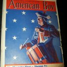 Vintage AMERICAN BOY July 1936 Magazine USA Drummer Boy