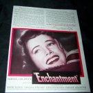 Vintage 1944 ENCHANTMENT Teresa Wright Movie Print Ad