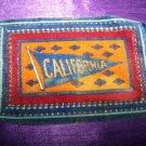 Antique TOBACCO Felt Rug/Carpet CALIFORNIA Premium