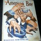 Vintage AMERICAN BOY June 1938 Magazine BASEBALL Cover