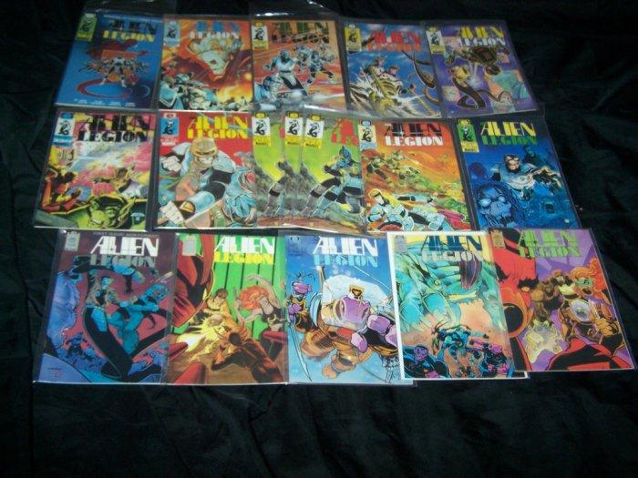 ALIEN LEGION Epic Comic Lot1-2-3-4-5,7,14,15,17,20
