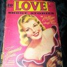 Vintage LOVE SHORT STORIES Feb 1942 Pulp Magazine