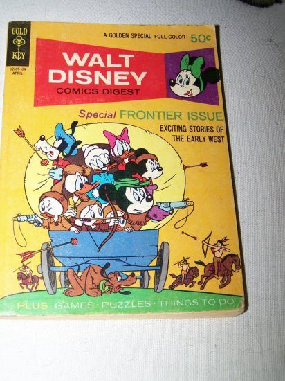 WALT DISNEY Comics Digest Gold Key #28 April 1971 ~VG