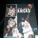 Vintage New York NY KNICKS 1971 Basketball Magazine Jan