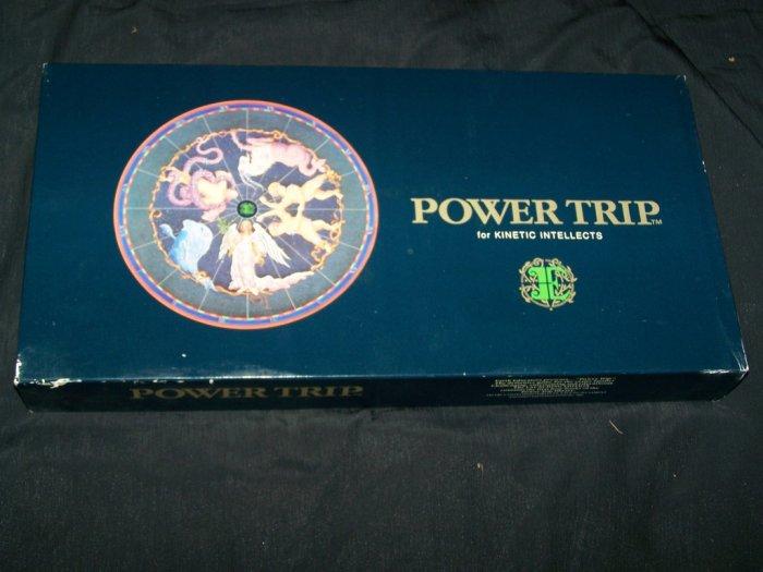 Vintage POWER TRIP Mind Intellect Trivia Board Game