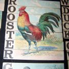 Antique 1880s-1890s Alphabet/ABC/Spelling Lithograph Children's Toy Cards~Birds