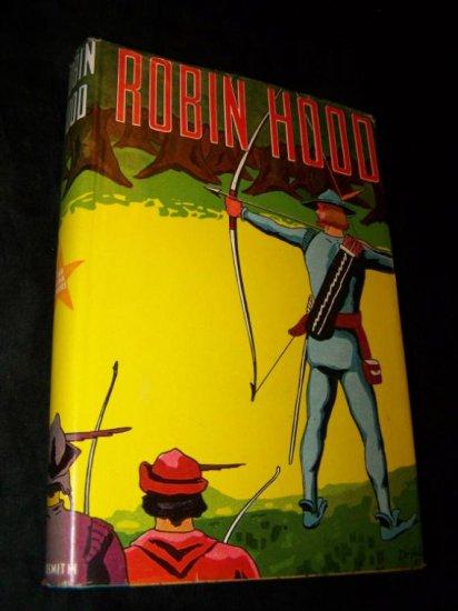 Vintage ROBIN HOOD Henry Gilbert Childrens Book HC/DJ