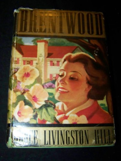 Vintage 1937 BRENTWOOD Grace Livingston Hill DJ Book