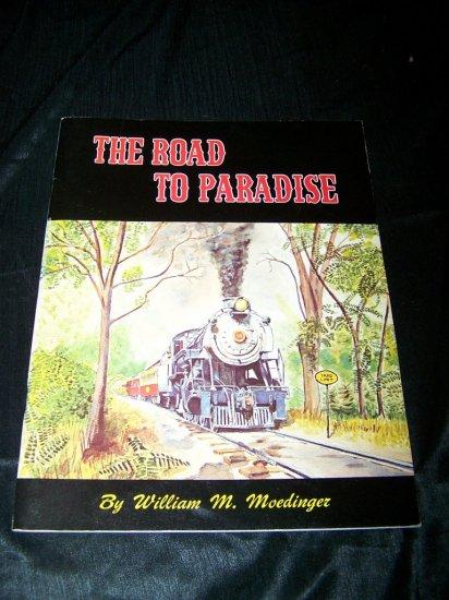 Vintage 1971 TO PARADISE STRASBURG RAILROAD Souvenir Book